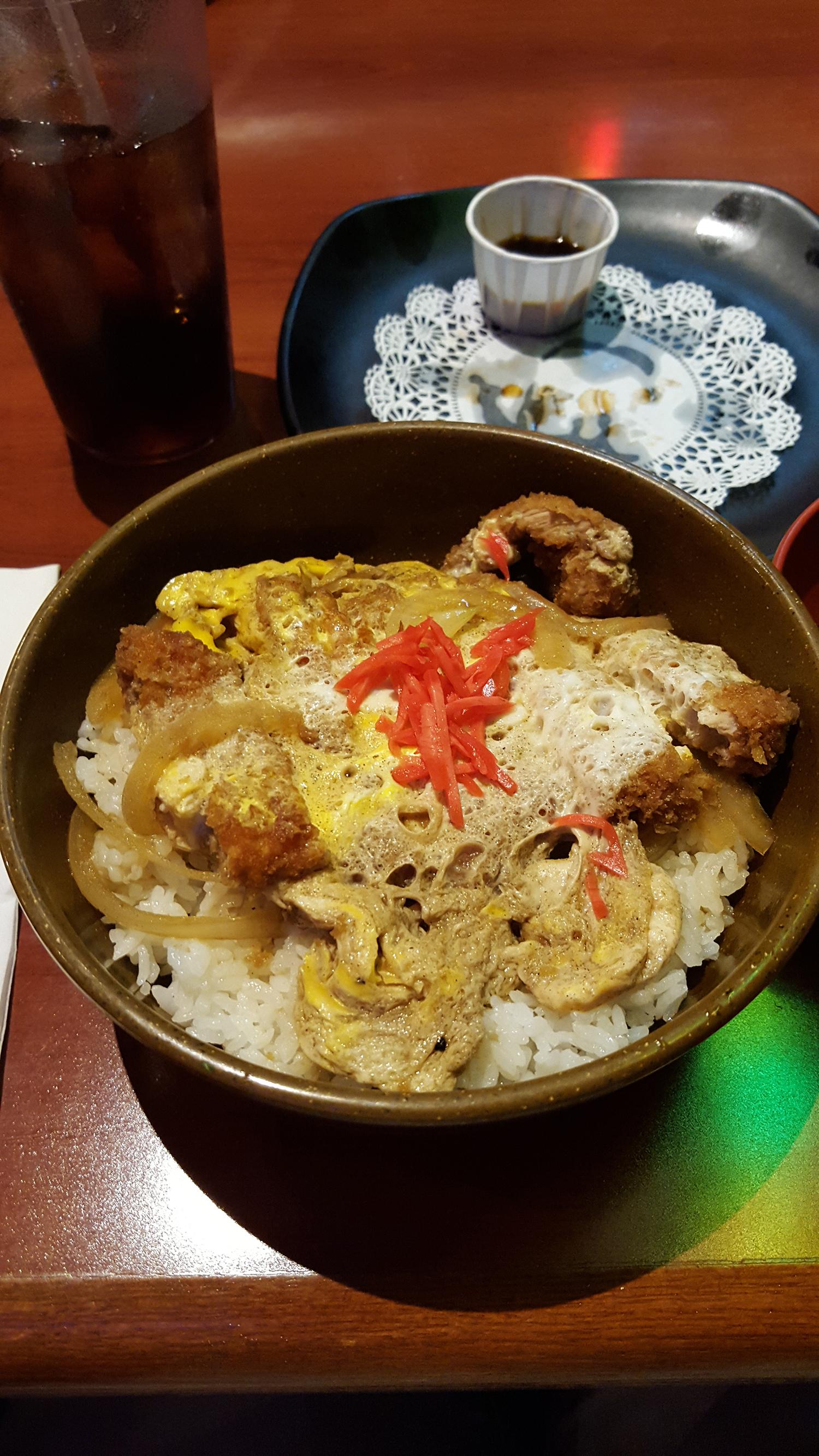 Pour la peine, le soir, restaurant japonais avec les deux loustics pour fêter ça !